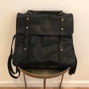 Free People Gwen Convertible Messenger/Backpack